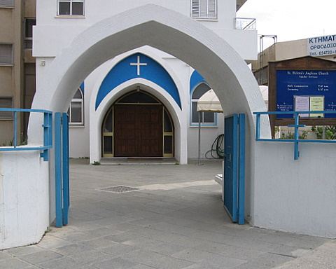 One of the Anglican Protestant Churches in Cyprus