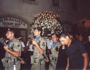 Good Friday march in Cyprus